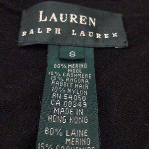 SZ S Cashmere blend wrap sweater